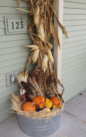 50 Bauernhaus Herbst Dekor Ideen #herbstlicheaußendeko