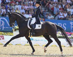 Kristina Sprehe On Desperados Equestrian Dressage Dressage Horses