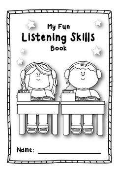 My Fun Listening Skills Book. Read instructions to students. They follow the instructions to complete the picture. Answer Keys included. Can also easily be used as a reading activity.