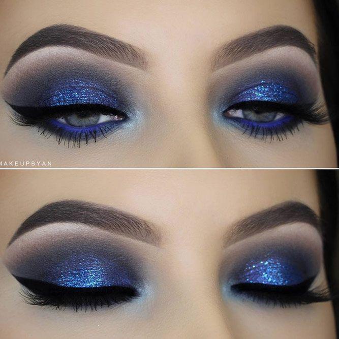 21 Gorgeous Eye Makeup Looks For Blue Eyes Blue Eye Makeup Blue