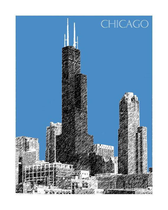 sears tower coloring pages - photo#30