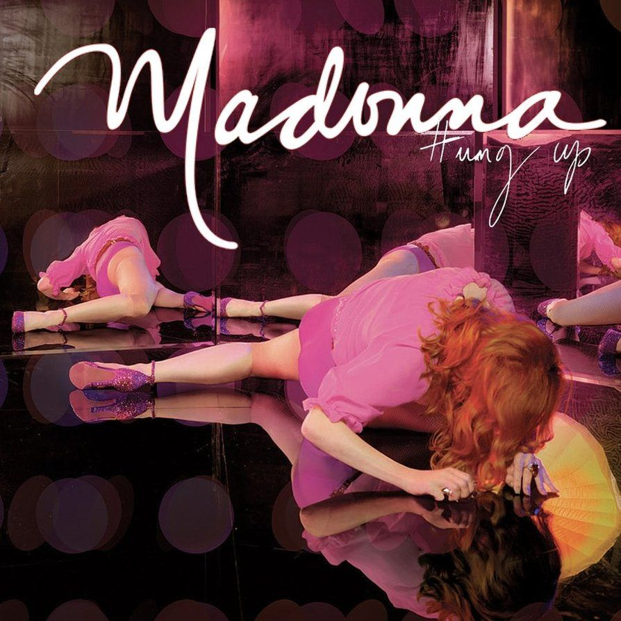 Madonna – Hung Up (single cover art)
