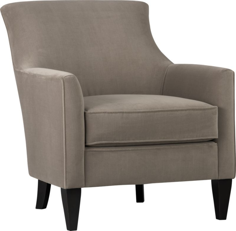 Clara chair crate and barrel 999 as shown in dune seal this is a simple elegant Crate and barrel living room chairs