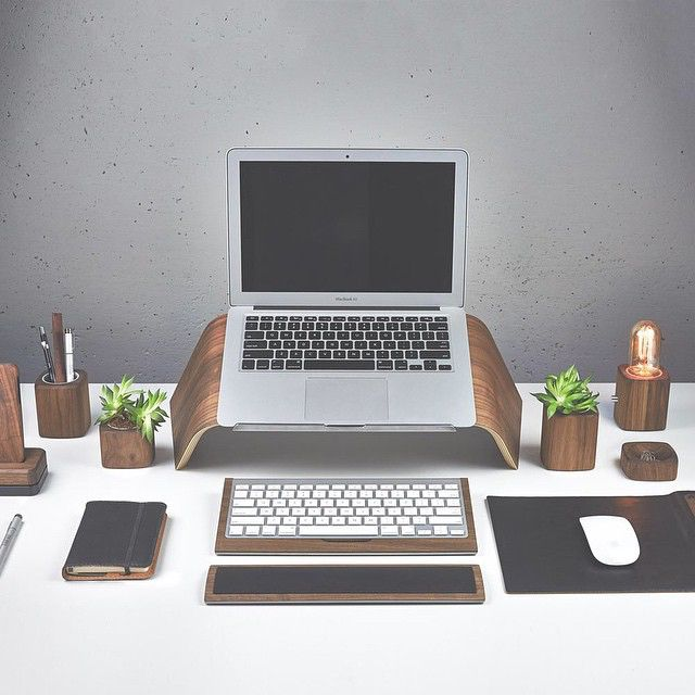 Portlandu0027s @grovemade Adds A New Laptop Stand To Its Pristine Collection Of  Wooden Desk Items