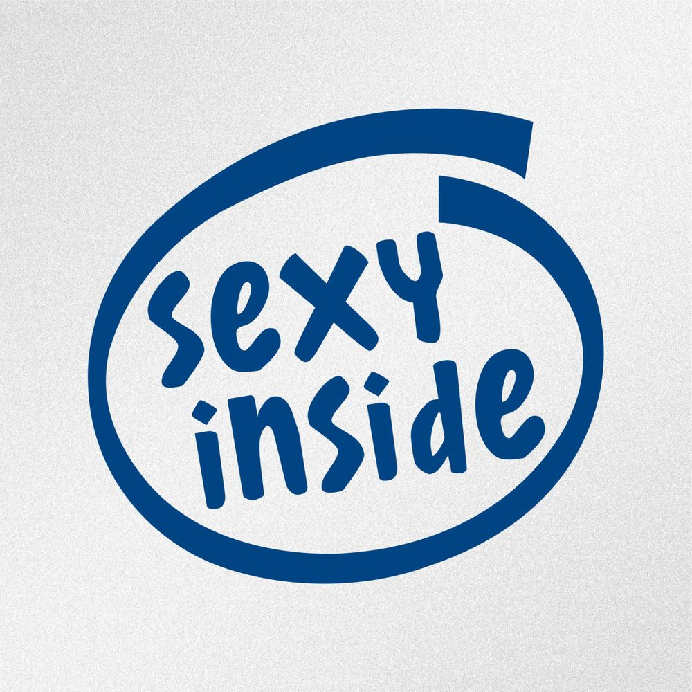 Sexy Inside JDM Funny Car Body Window Bumper Vinyl Decal Sticker - Vinyl decals for phone cases