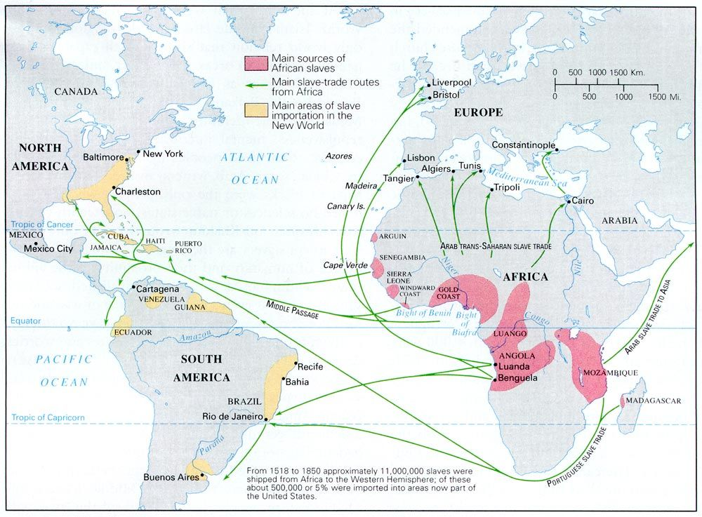 Middle Passage Map S MAPPING THE MIDDLE PASSAGE Pinterest - Map of migrant diasporas across the us