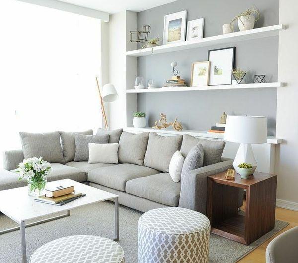 150 Bilder kleines Wohnzimmer einrichten! Pinterest Salons