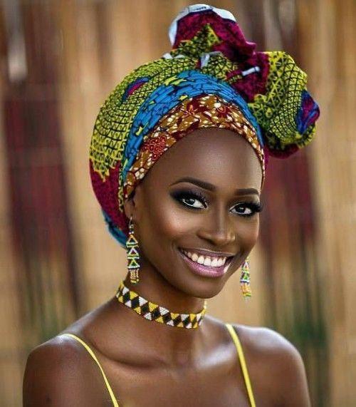 Wunderschöne 49 Head Wraps für afroamerikanische Frauen #africanamericanhair