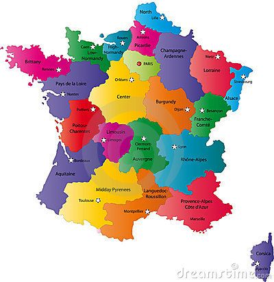 Map Of France By Indos82 Via Dreamstime Http Www Dreamstime