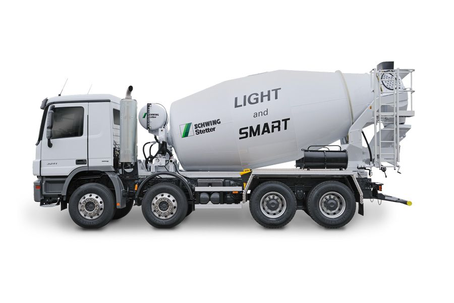 New s 61 sx truckmounted concrete pump for betonlift with