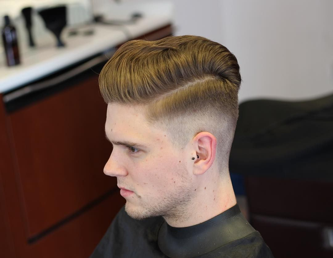 Low Fade Classic Comb Over Hairstyles Cool New Hairstyle For Men