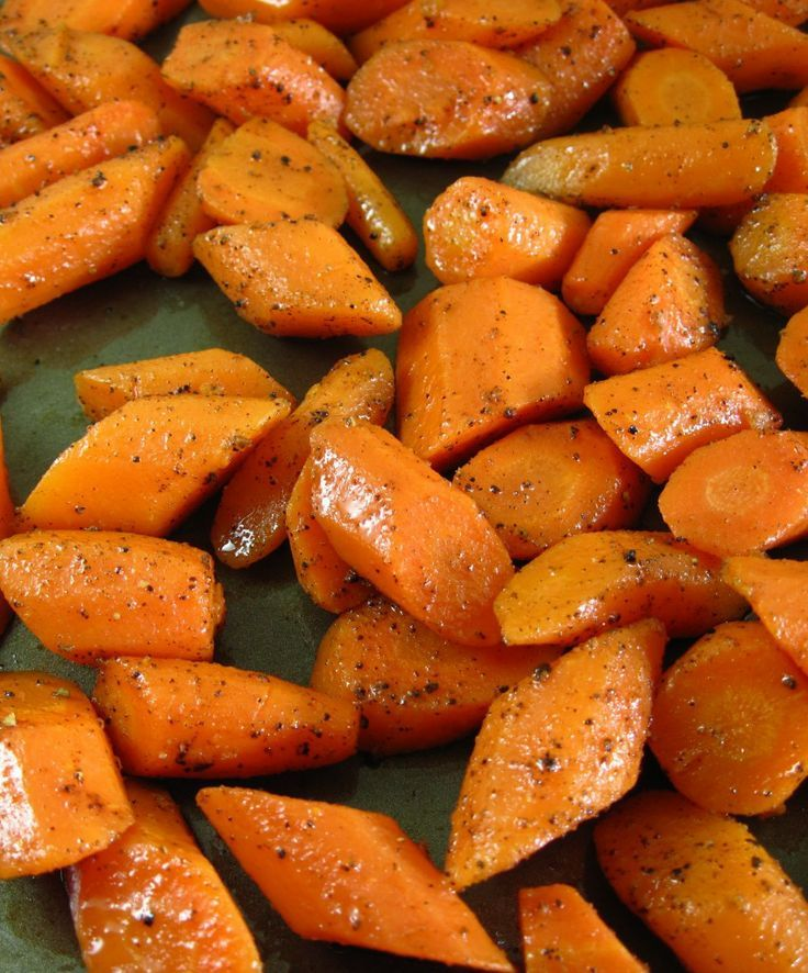 Enjoy roasted carrots as the perfect side dish to any meal.