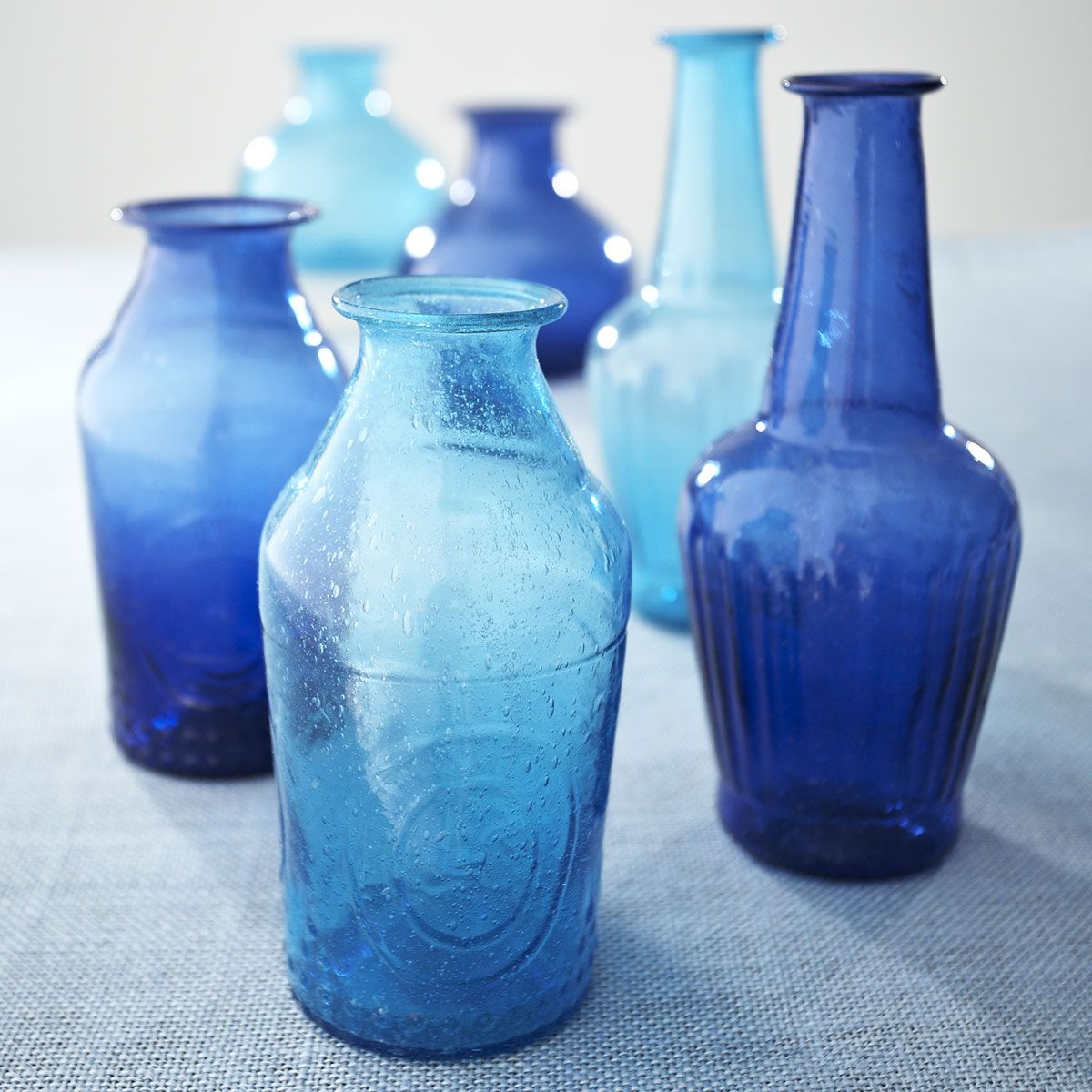 W8082 Recycled Gl Vases Cobalt Meg Doughty Possible Source Maybe They Do Bulk