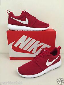 4ec3570e006b Men s NIKE ROSHE ONE Gym Red   White - Black 511881 612  Men  Shoes  Nike   Roshe  Mens  Shoe  Sneaker  Kicks  Sneakers  Footwear  Deadstock  Runners  ...