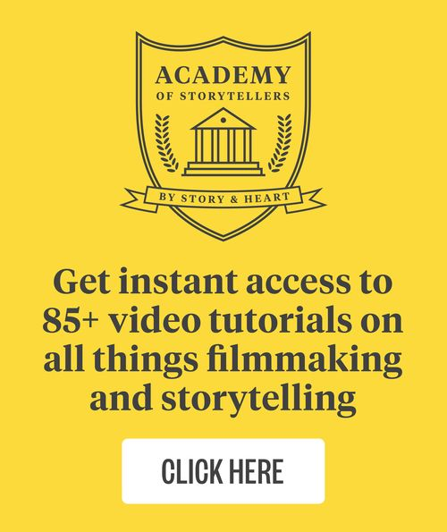 21 filmmaking lessons you don't have to learn by yourself. — Story & Heart Blog
