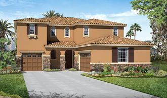 Thomas-S30T-Steeplechase Elevation B Rend | Steeplechase | Richmond American Homes | Perris, CA | This beautiful new Perris community offers attractive ranch and two-story floor plans with a wide array of personalization options. Residents will appreciate small town comforts and easy access to popular schools, parks, freeways and Perris Raceway. Across the nation and in CA we're one of America's leading home builders.