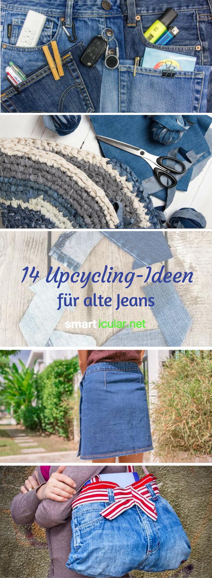 Kaputte Jeans nicht wegwerfen - das alles kannst du daraus machen ...
