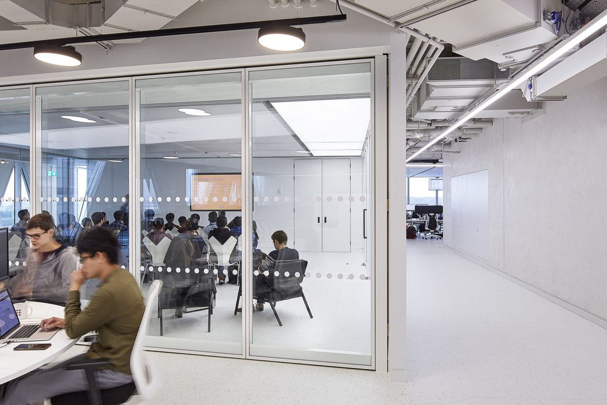 Office Tour The Hut Group Offices Manchester In 2020 Workspace Design Workplace Design Hut