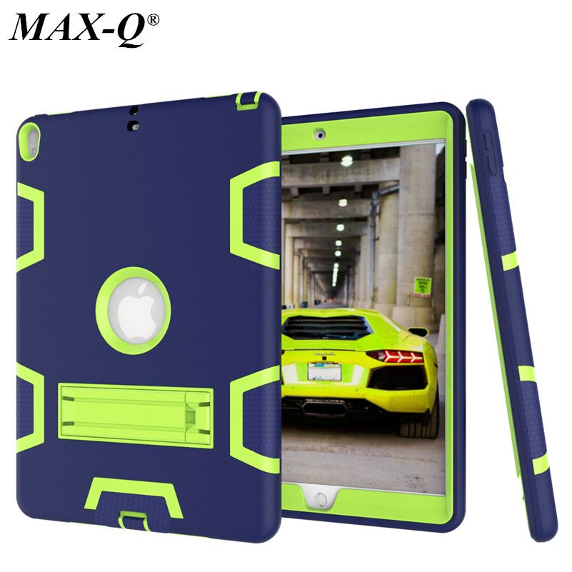 For Coque Ipad Pro 10 5 Case Max Q Shockproof Armor Defender Case Hybrid Pc Rugged Silicone Cover For Ipad Pro10 5 Inch Tablet Ipad Pro Apple Ipad Ipad