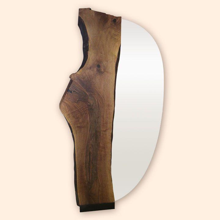 Spiegel, Einrichtung, Massiv Holz, Natürlich, Einzigartig, Unikat,  Schreinerei Messmer,