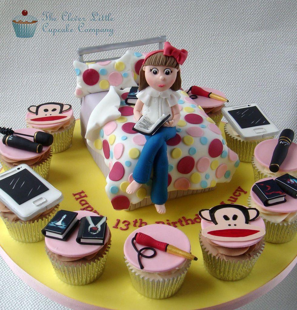 Teenage girl cake (cool, cute)   Dessi