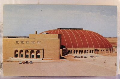 Lubbock Texas Coliseum Where We Would Register For
