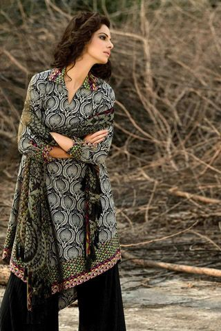 Turkish & Ikat Winter Collection 2012 by Khaadi  #dresses #dress #pakistanidresses #partydresses http://www.fashioncentral.pk/pakistani/ramp/review-980-turkish-ikat-winter-collection-2012-by-khaadi/complete-collection/