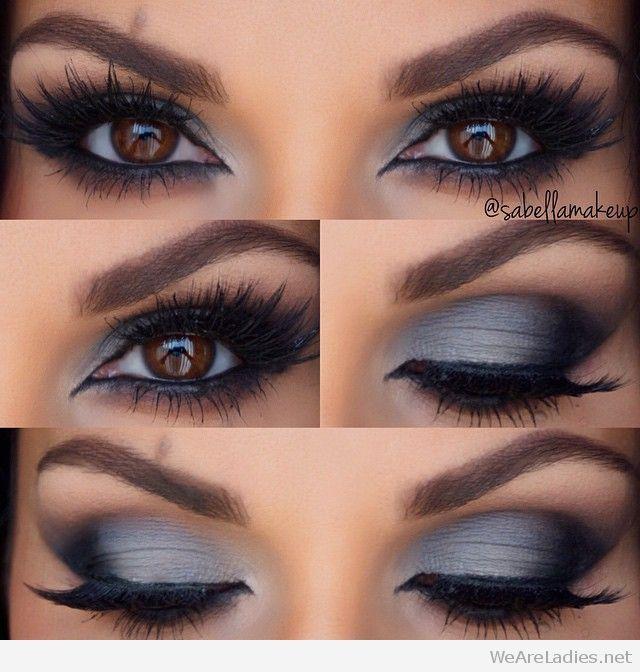 Grey Eye Shadow Make Up Looks Pinterest Makeup Eye Makeup And