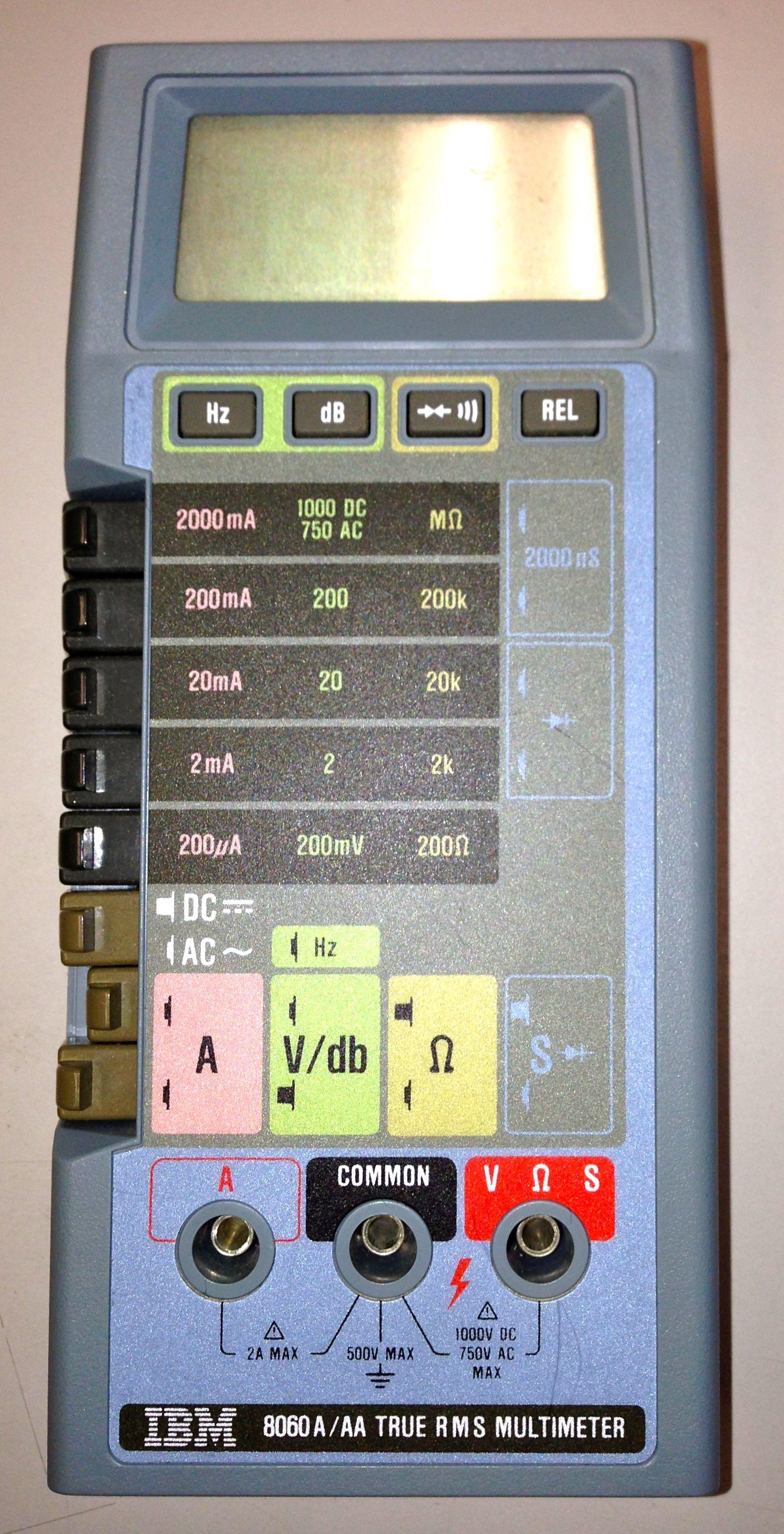 Fluke 8060A - IBM version Ibm, Instruments, Musical Instruments
