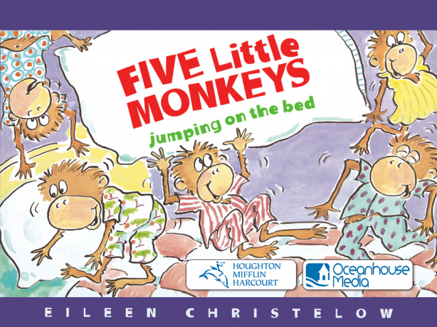 Five Little Monkeys Jumping On The Bed - One fell off and ...
