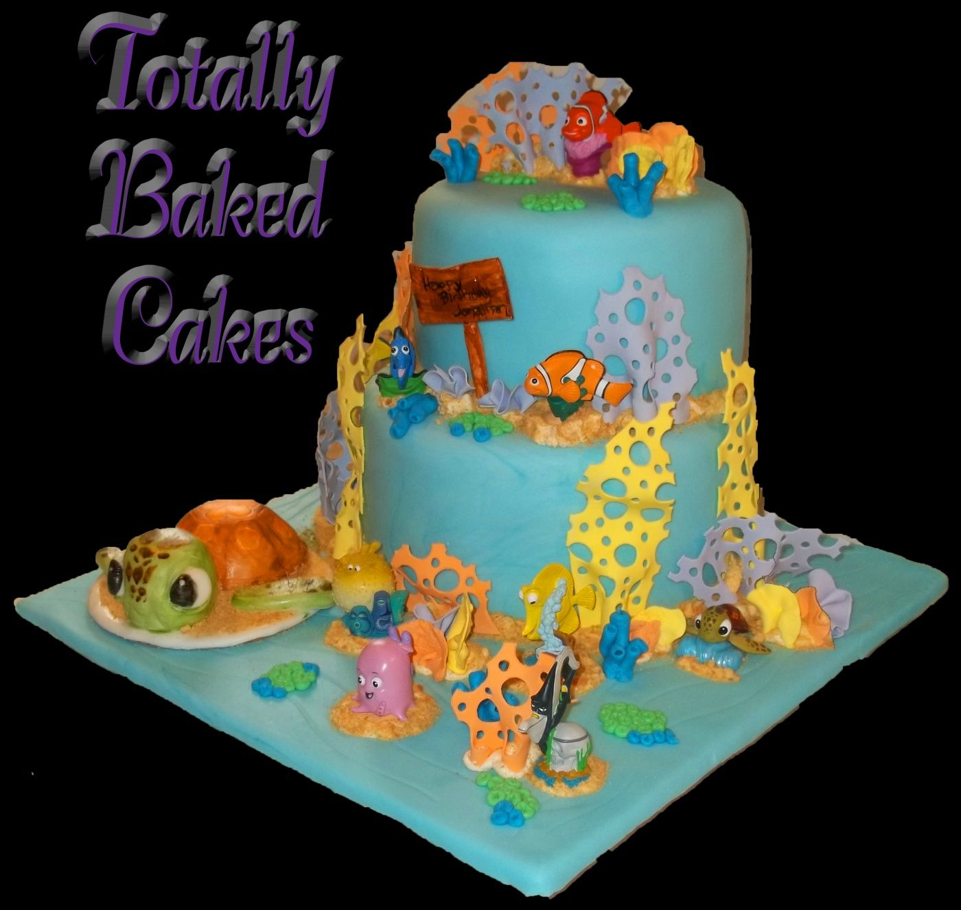Smash Cakes For 1st Birthday Finding Nemo Babys First