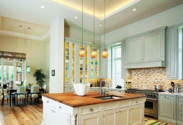 Abgehängte Decke mit LED Beleuchtung lighting Pinterest Led - küche beleuchtung led