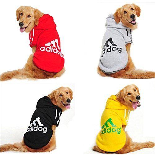 Idepet Cotton Adidog Large Dog Clothes Large Dog Clothes Dogs