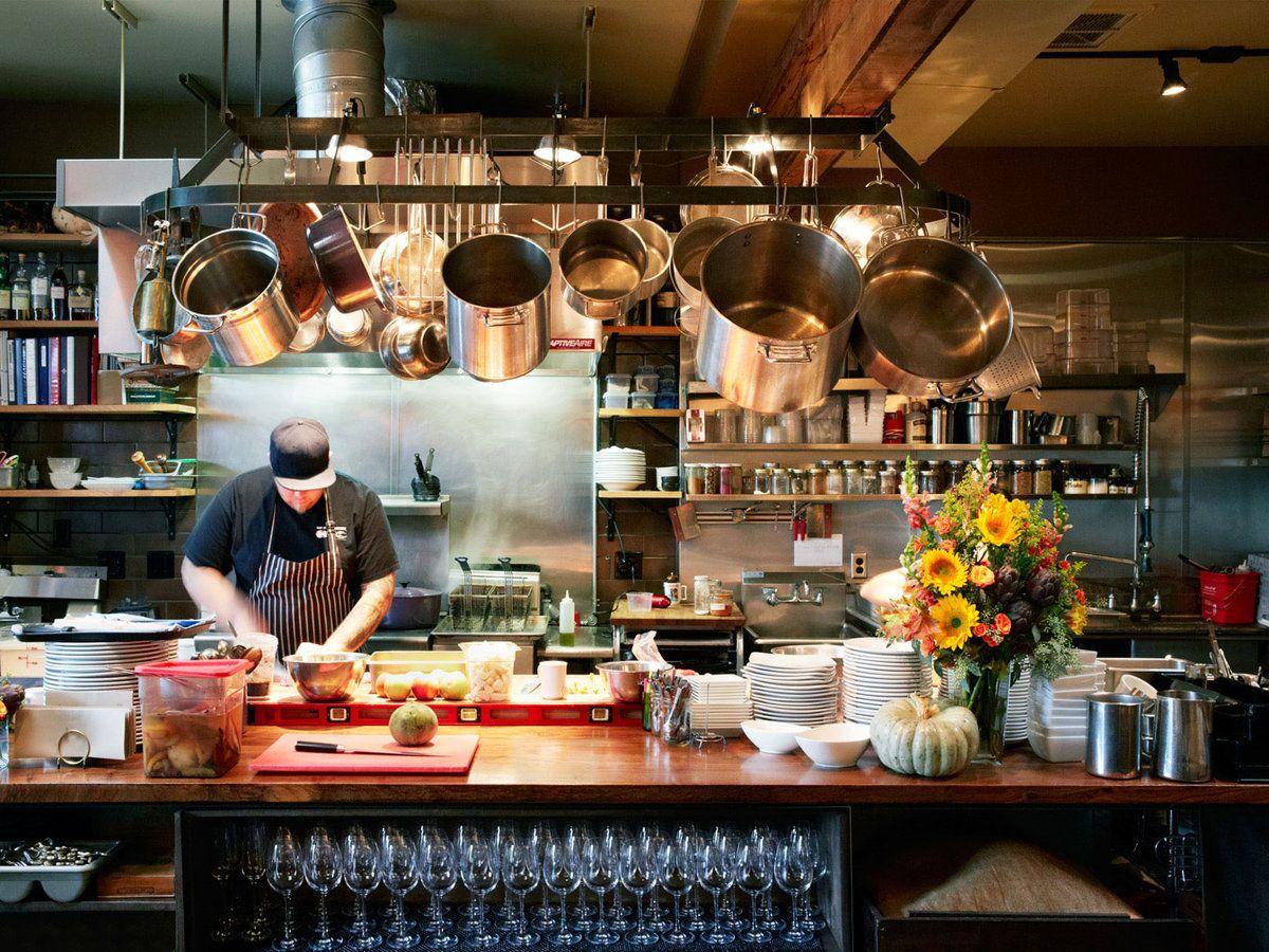Portland Vegetarian Cuisine S Game Changer Restaurant Kitchen Design Open Kitchen Restaurant Restaurant Kitchen