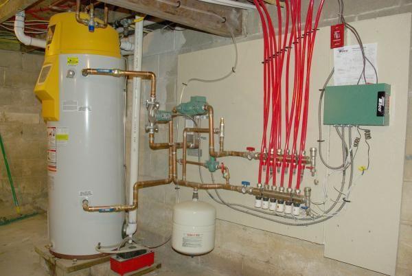 Name Radiant Heat Manifold Vertex Water Heater Imgp8249
