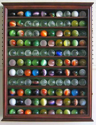 110 Marble Balls Display Case Marble Ball Glass Marbles Marble Pictures