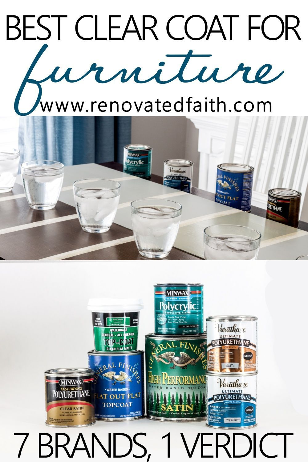 The Best Clear Coat For Furniture 2020 Best Chalk Paint Top Coat In 2020 Best Chalk Paint Chalk Paint Furniture Painted Furniture