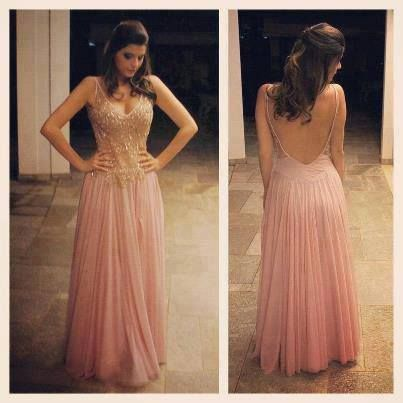 Modelo vestido para festa