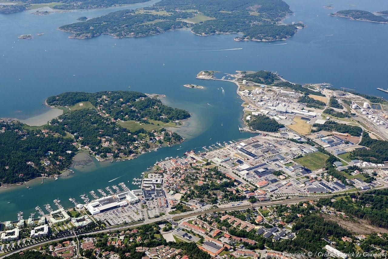 Photo aérienne de Stenungsund Suède (Sweden)