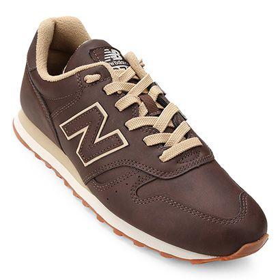 new balance 373 masculino marron
