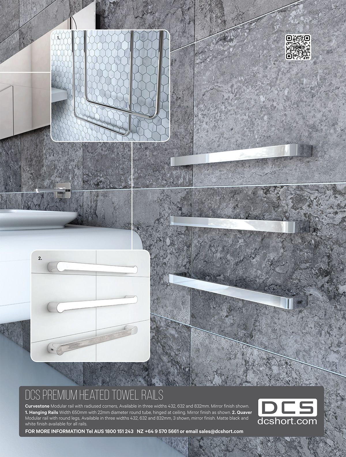 Trends 2015 - DCS Heated Towel Rails