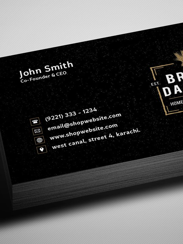 Free vintage style business card template mockup psd freebie free vintage black business card psd template freebies fbccfo Gallery