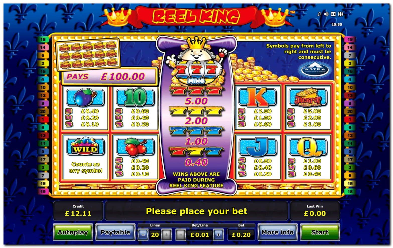 Palace of Poseidon Slot Machine