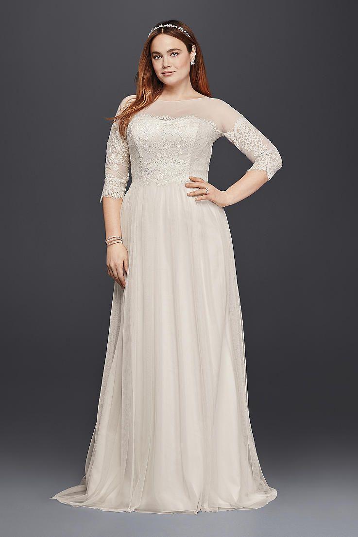 Plus size wedding dresses u bridal gowns davidus bridal wenddimg