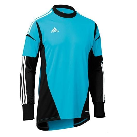 fb17ea9552a Adidas Condivo 12 Goalkeeper Jersey Blue-Black | Soccer | Goalie ...