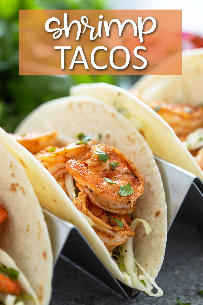 Shrimp Tacos #cilantrolimeslaw
