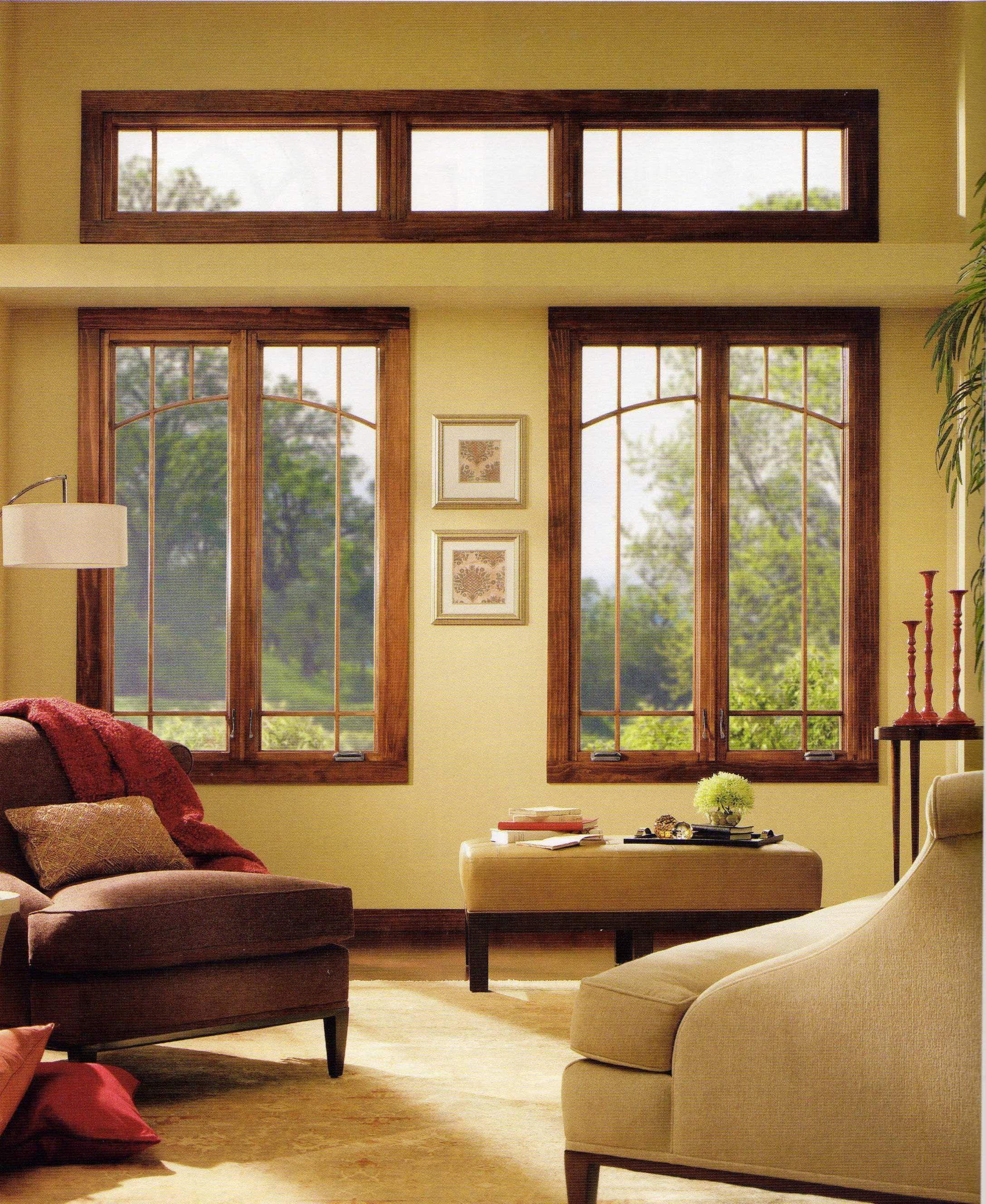 Ventana con decoraci n artesanal y ventana de marco for Ventanas de aluminio con marco de madera