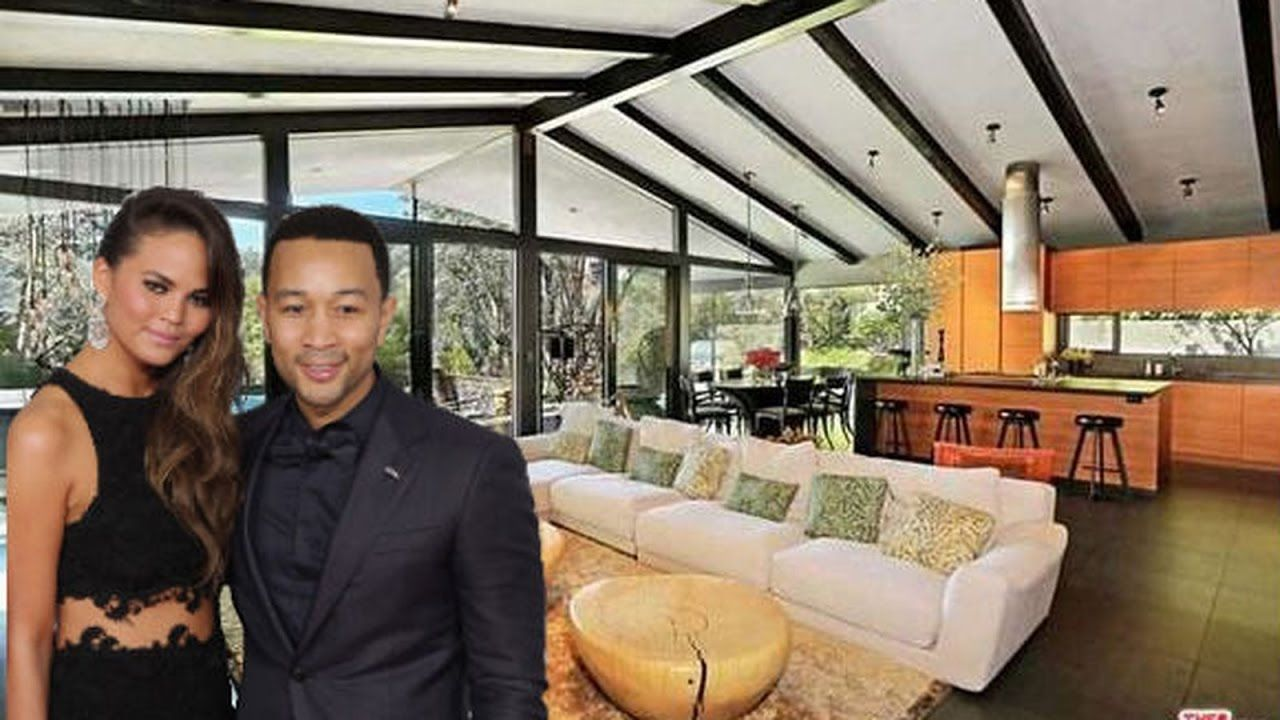 John Legend and Chrissy Teigen's House Tour In Beverly
