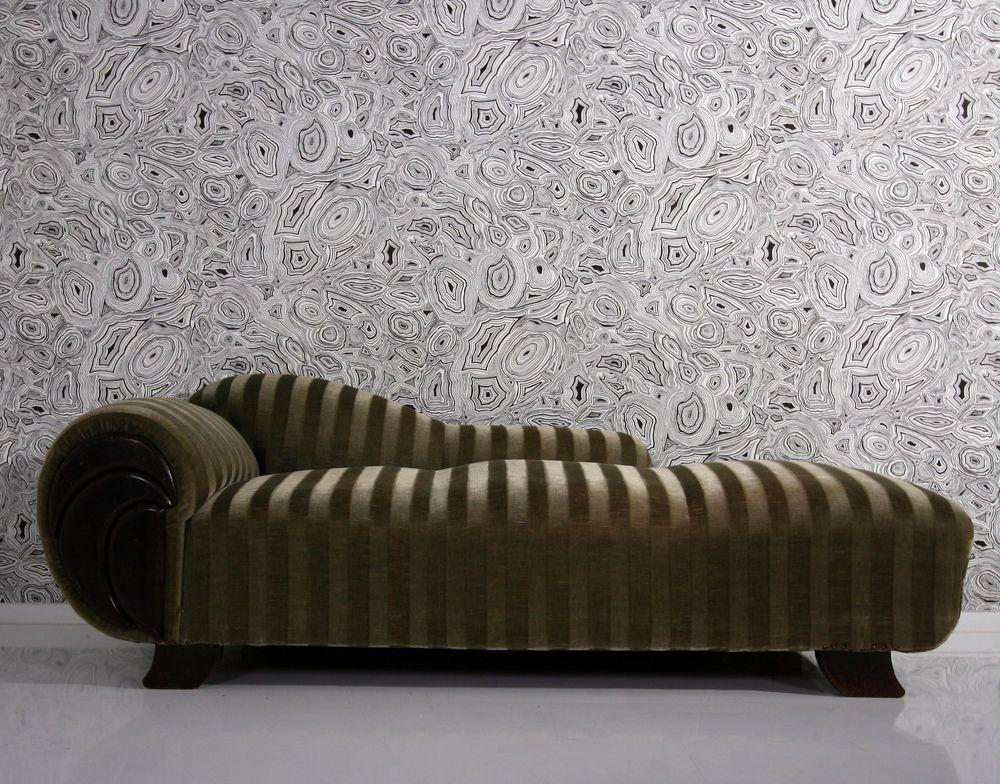 art deco sofa + sessel - armcair chaiselongue fauteuil easy chair ...