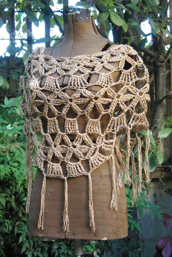 Pin de Fanny Acuña en Invierno crochet * | Pinterest | Ponchos ...